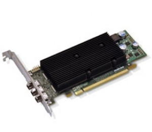 Matrox M9138 1GB LP Heatsink PCIE DP M9138-E1024LAF