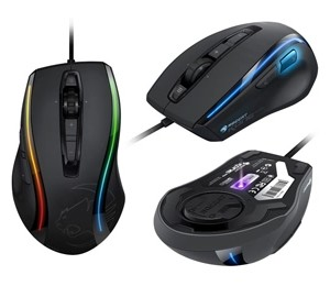 ROCCAT Kone XTD Max Customization Gaming Mouse - DOMINATION. EXTENDED.