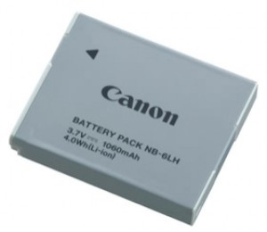 CANON NB6LH Lithium Ion Battery. Please refer compatibility schedule NB6LH