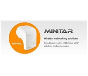 Minitar Wireless AC Repeater AP Router NHMI-MR750AC