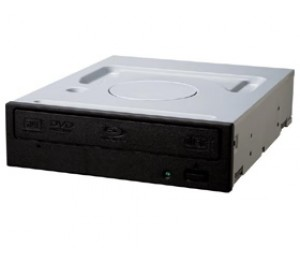 Pioneer BDR-209DBKS Black 15X Blu-Ray Writer Drive, SATA, OEM, including Cyberlink BD Media Suite