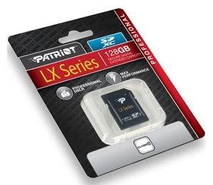 Patriot Lx Series 128gb High Speed Sdxc Class 10, Uhs-1, Up To 80mb/sec Psf128gsdxc10