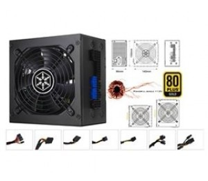 550W Silverstone 80+ Gold PSU Compact Design & Fully Modular PSST-ST55F-G