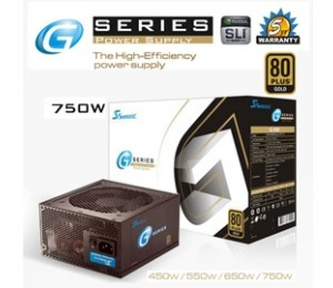 Seasonic G series 750W PSU 80Plus PSUSEAG750WSMGD