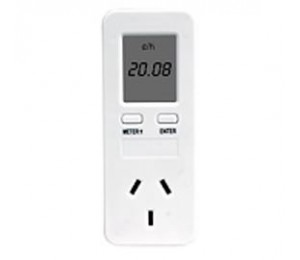 Laser Pw-metersk Electricity Meter Socket With Carbon Lcd Wt