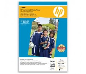 Hp Advance Photo Paper Glossy 10/ 15 Borderl Q8008a