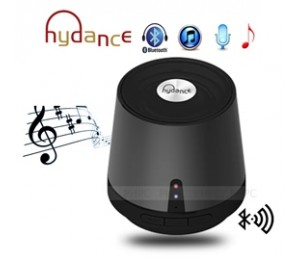 HYDANCE MAXI SOUND MP3 Player with Mini Bluetooth Speaker & Power Bank - BLACK SPKHYDMAXISNDBK-B