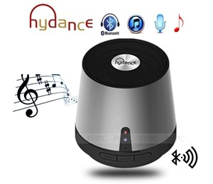HYDANCE MAXI SOUND MP3 Player with Mini Bluetooth Speaker & Power Bank - SILVER SPKHYDMAXISNDSL-B