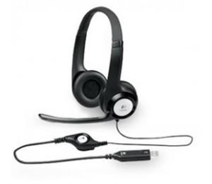 Logitech H390 Usb Headset Adjustable, Usb, 2 Years Splt-h390