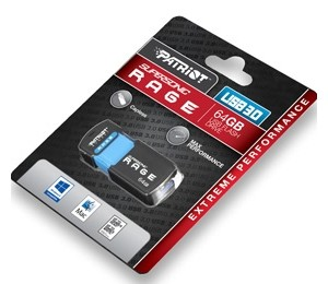 Patriot Supersonic Rage Xt Usb 3.0 64gb Flash Drive Extreme Performance Up To 180mb/s Read, 50mb/s Write
