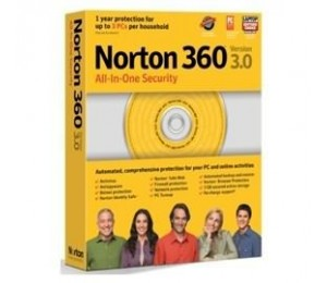 Norton 360 V3.0 3 Users Retail All-in-one Security Anti Virus, Anti Spyware, Firewall