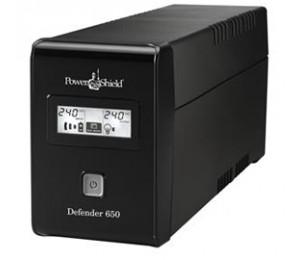 Powershield Defender 650VA Fanless, USB i/ Face, AVR Prote UPPS-D650VA