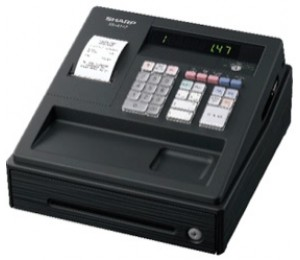 Sharp Xea147 Black - Entry Level Cash Register Xea147bk