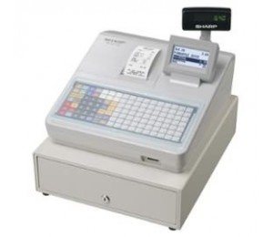 Sharp Xea217w Cash Register With Flat Keyboard, Electronic Journal And Receipt Printer. Colour