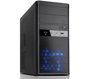 "Aywun 208 Matx Integrator""s Case With 500w Max Psu. 24pin Atx, 8pin Eps, 1x Usb3+1x Usb2, Hd Audio"