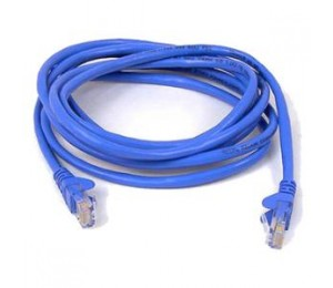 BELKIN CAT5E SNAGLESS PATCH CABLE 5M BLUE A3L791BT05MBLUS