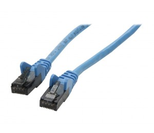 Belkin Cat6 Snagless Utp Ethernet Patch Cable M/ M 5M Blu E A3L980-15-Blu-S