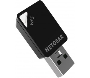 NETGEAR A6100 WIFI USB MINI ADAPTER - AC600 802.11AC DUAL BAND A6100-10000S