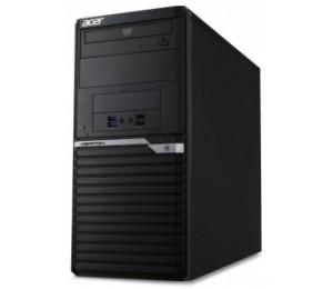 Acer Veriton Minitower M6650g I7-7700 2x 4gb Ram 256 Ssd+ 2tb Hdd Dvd S/ M Win10 Pro Keyboard &