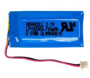 Socket Lithium Ion Battery Replacement - Chs 7qi/7xi/7xirx - 5 Pack Ac4143-1901