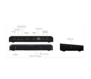Acer Usb Type-c Docking Station For Aspire Switch Alpha 12 Np.dck11.01e-a05