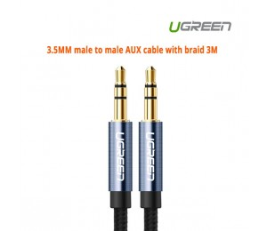 Ugreen 3.5MM male to male AUX cable with braid 3M 10688 ACBUGN10688