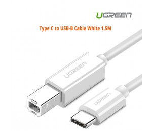 Ugreen Type C to USB-B Cable White 1.5M 40417 ACBUGN40417