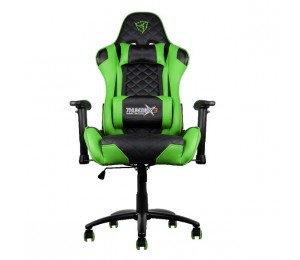 Aerocool Black & Green Thunderx3 Tgc12 Adjustable Ergonomic Motorsports Inspired Desk Chair Aer-4710700959572