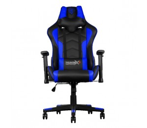 Aerocool Black & Blue ThunderX3 TGC22 Adjustable Ergonomic Motorsports Inspired Desk Chair AER-4710700959602