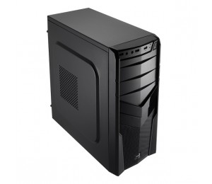 Aerocool Black V2x Advance Mid Tower Chassis & 600w Psu (usb3) Aer-4713105951059