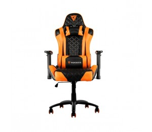 Aerocool Black & Orange ThunderX3 TGC12 Adjustable Ergonomic Motorsports Inspired Desk Chair AER-4713105964806