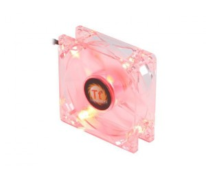 Thermaltake 80mm Case Fan: Thunderblade Red LED AF0027