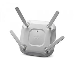 Cisco (air-cap3702e-n-k9) 802.11ac Ctrlr Ap 4x4:3ss W/ Cleanair; Ext Ant; N Reg Domain Air-cap3702e-n-k9