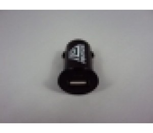 Amaze Car Socket Usb Charger, Black Colour, Shiny Finish, Input: 12-24v/ Output: 5v--1a, Am-car-charger-b