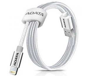 Adata Technology Adata Lightning Cable Alum. (sliver) With Strong Multi-layered Construction And