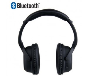 Laser Noise Cancelling Bluetooth Headphone In Matt Black Ao-bt88nc-blk