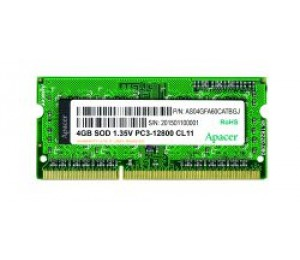 Apacer DDR3L SODIMM PC12800-8GB Memory for QNAP TVS-xx3-xG Pro Upgrade (requires matching pair