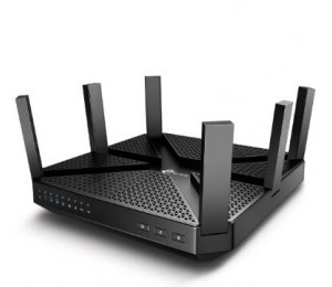Tp-link Wireless Tri-band Mu-mimo Router Gbe(4) Usb 3.0(1) Usb 2.0(1) Archerc4000