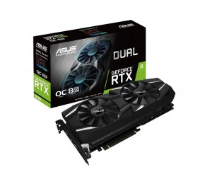Asus Dual Geforce Rtx™ 2080 Oc Edition 8Gb Gddr6 With High-Performance Cooling For 4K And Vr Gaming