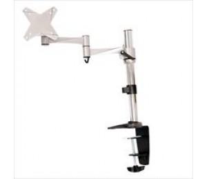 """Astrotek Monitor Stand Desk Mount 43cm Arm for Single Display 13""""-27"""" 8kg 15° tilt 180° swivel"""