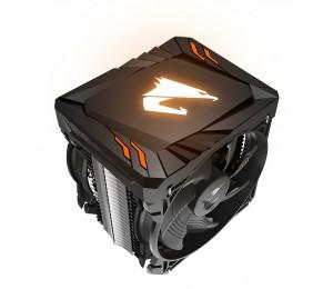 GIGABYTE AORUS ATC700 CPU COOLER 2 FAN SUPPORT MOST INTEL AND AMD SOCKETS RGB LIGHTS GP-ATC700