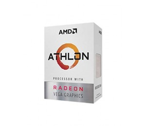 Amd Processor: Socket Am4 2 Core 4 Threads Up To 3.20Ghz 5Mb Cache 95W Built In Radeon Vega 3 Graphics