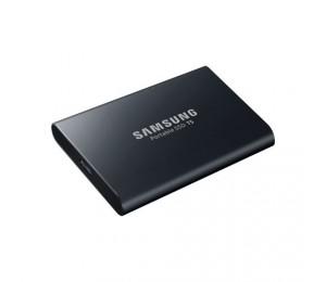 SAMSAUNG Portable SSD T5 USB 3.1 1TB (Black) (MU-PA1T0B/WW)