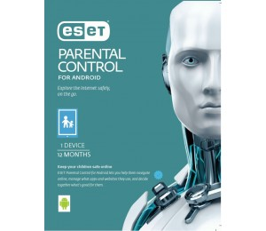 ESET Parental Control For Android 1 Device 1 Year Retail Download Card AV-ES-PCTRL1D1Y