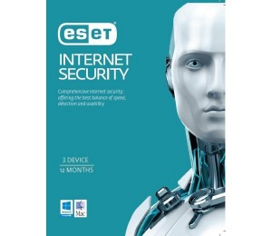 ESET Internet Security OEM 3 Devices 1 Year EISH3D1Y
