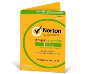 Symantec Norton Security Standard With Antivirus Oem 1 Device 1 Year Cd Media Av-norstdoem-1
