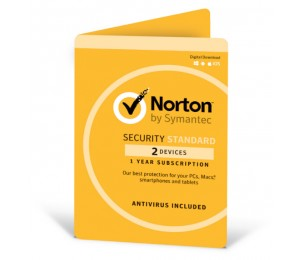 Symantec Norton Security Standard With Antivirus Oem 2 Devices 1 Year Digital Download Av-norstdoem-2