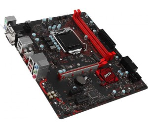 MSI MB: B250 LGA1151 2x DDR4 1x M.2 4x SATA PCI-E x16 DVI-D/ HDMI/ VGA USB 3.1 DS B1 GAMING Mouse