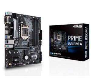 Asus Intel Lga-1151 Matx Motherboard With Aura Sync Rgb Header, Ddr4 2666Mhz, M.2 Support, Hdmi,
