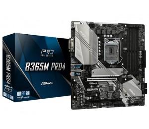 Asrock Matx Motherboard: B365 Socket 1151 For Intel 8Th/ 9Th Gen. Processors 4X Ddr4 6X Sata